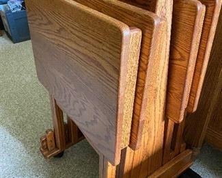 Oak Snack Trays $75.00