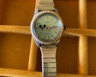 Elgin Quartz Mickey Mouse Watch $10.00