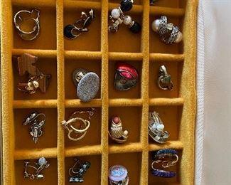 24 Pairs of Earrings $50.00