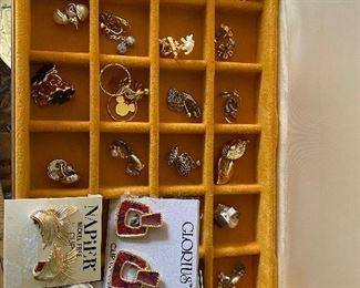 22 Pairs of Earrings $45.00