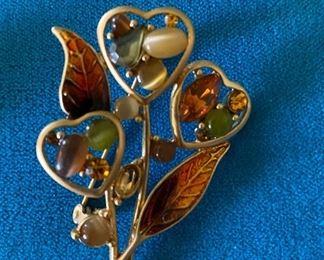 Hearts Pin $5.00