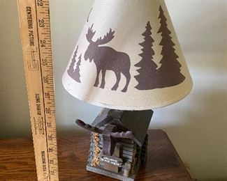 Moose Lamp $18.00 (there are two of these great lamps)