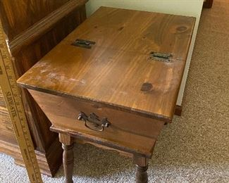 Table with Storage Top $30.00