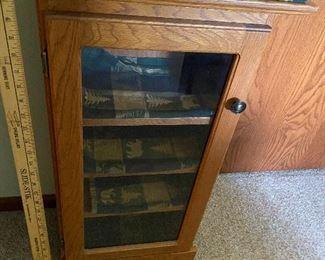 One Door Wood Cabinet $50.00