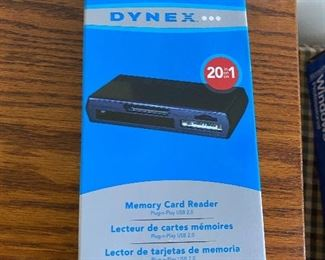 Dynex Memory Card Reader $5.00