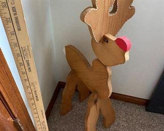 Wood Deer $10.00