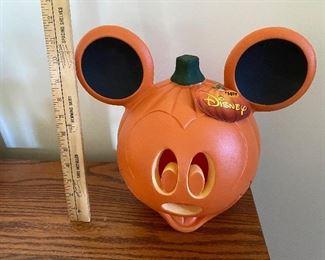 Light UP Mickey Mouse Pumpkin $6.00