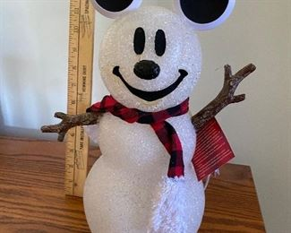 Might Up Mickey Snowman $7.00