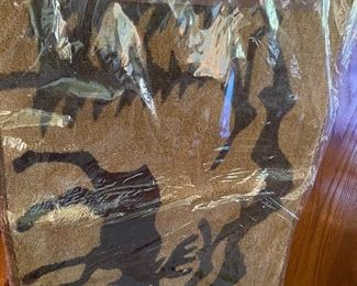 24X30 Moose Rug (there are three of these) New in Package $10.00