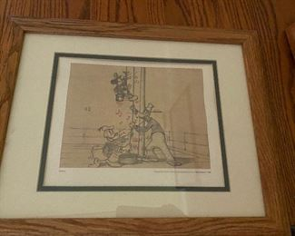 Donald and Goofy framed $18.00