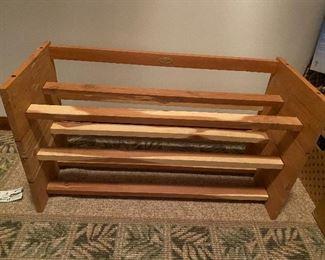 Cedar Shoe Rack $12.00