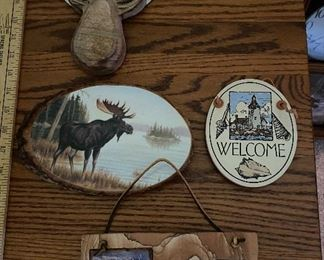 5 Woodland Wall Hanging Decorations $20.00 for all shown