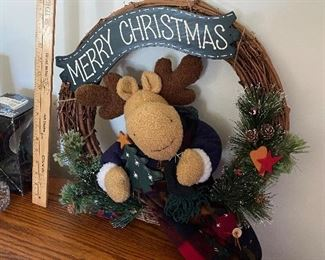 Moose Wreath $8.00