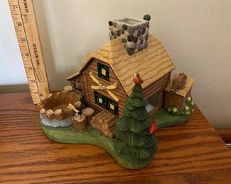 Partylite Log Cabin $15.00