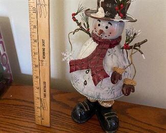Metal Snowman $8.00