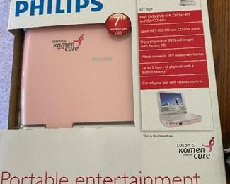 Philips Portable DVD Player new in box $15.00