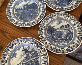 4 Delft Plates $20.00 for all