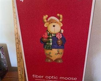 Fiber Optic Moose $12.00