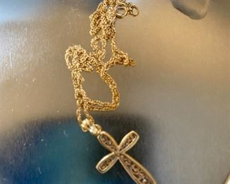 $40.00 Cross and Chain