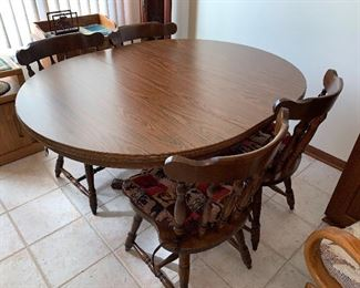 Kitchen Table and Chairs $85.00