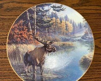 Legacy Moose Plate $6.00