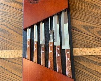 Hickory Hill Forge Knife Set $14.00