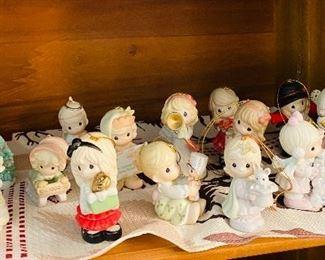 All Precious Moments Ornaments Shown $50.00