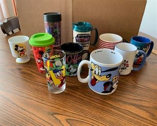 All Disney Mugs Shown $15.00