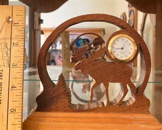 Moose Clock $7.00