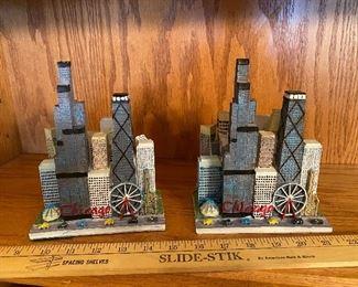 Set of Chicago Skyline Banks$10.00
