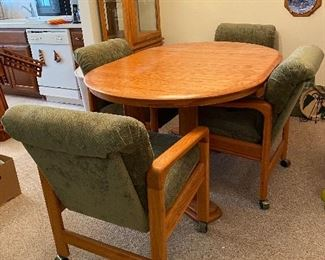 Table with 4 Chairs $125.00
