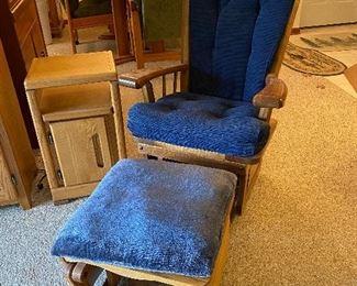 Glider Chair with Ottoman $65.00
