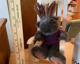 Moose in Rocking Chair $6.00