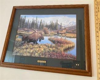 Time to Get Moose Jim Kasper $75.00