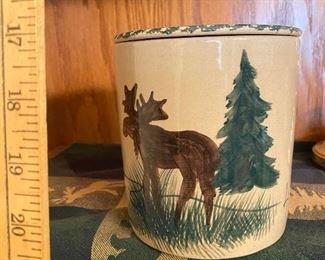 Moose Vase $8.00