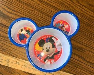 Plastic Mickey Bowl $3.00