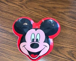 Mickey Mouse Plate $3.00