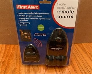 First Alert Remote Control  $8.00