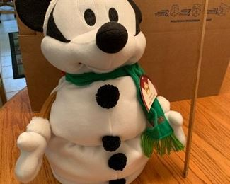 Snowman Mickey Mouse $10.00