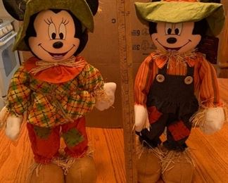 Mickey and Minnie Fall $15.00 for both