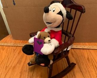 Mickey Mouse on Rocking Chair $12.00