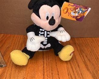 Mickey Skeleton Plush $4.00
