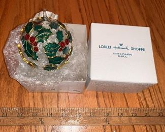 Ornament $4.00