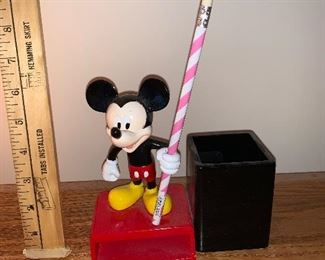 Mickey Mouse Pens and Pencils Holder $5.00