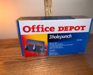 3 Hole Punch $5.00