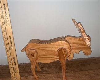 Wood Moose $5.00