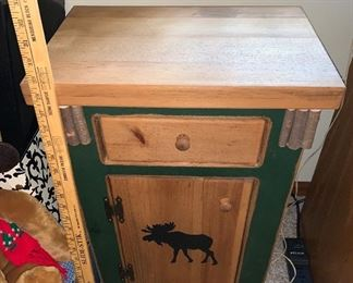 Moose cabinet $60.00