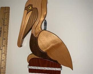 Wood Pelican $14.00