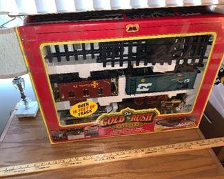 Gold Rush Train Set $40.00