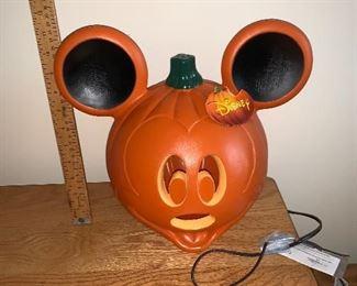 Mickey Pumpkin $8.00